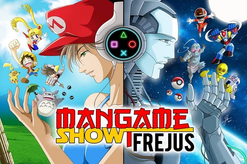 Affiche mangame show