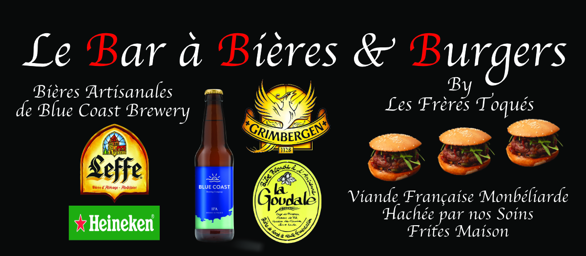Bar biere et burger web